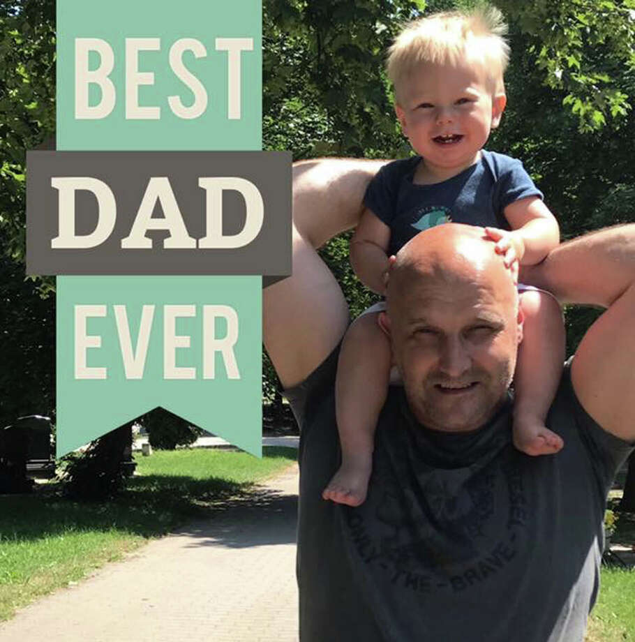 Laszlo Kovacs, 45, with their son, Levente, 2. The two-year-old boy is currently being held in a Bronx shelter. (Provided photo)