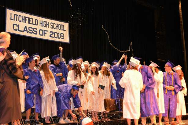 The graduation ceremony of the Litchfield High School Class of 2018at the Warner Theatre on June 25 2018