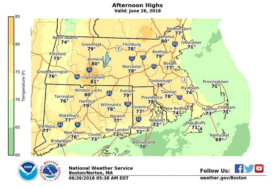 1st heat wave of the summer in the forecast - Connecticut Post