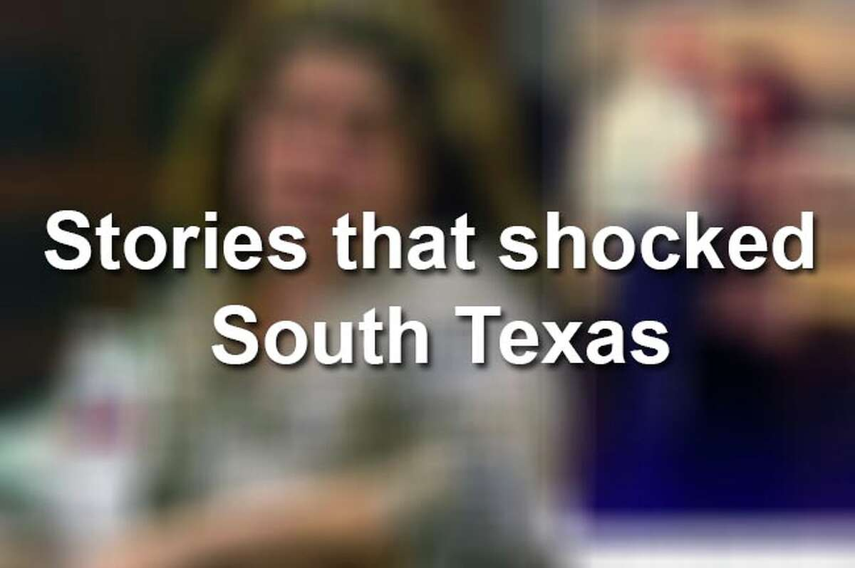 Here are some of the biggest stories that have shocked South Texas in the past years.