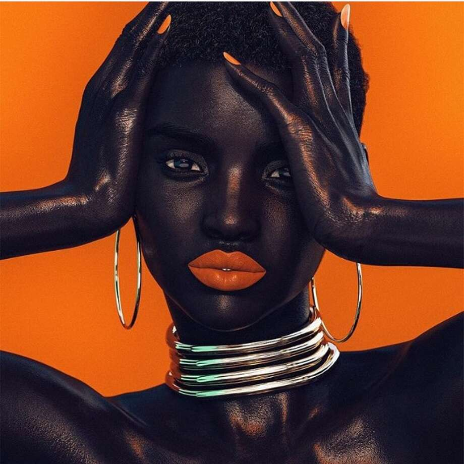 Shudu has been called the world's first digital supermodel. Shudu has caused a fair amount of controversy, hinging around the fact  that she's not actually real, but a project from photographer Cameron  James-Wilson. Photo: Instagram