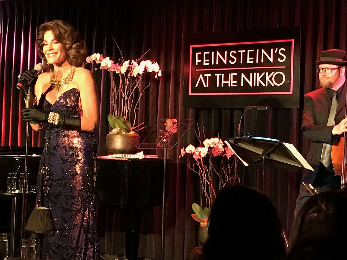 Luann de Lesseps, a.k.a. Countess Luann, performed at Feinstein's at the Nikko in San Francisco on Friday, June 22, 2018.