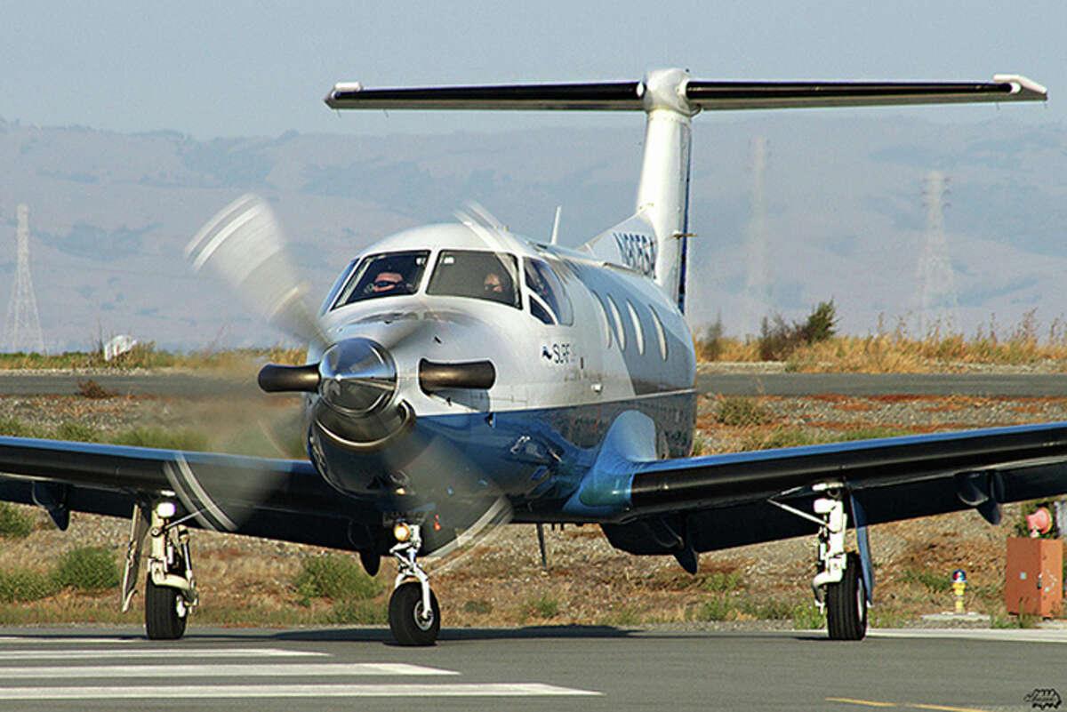 An 8-passenger Surf Air Pilatus