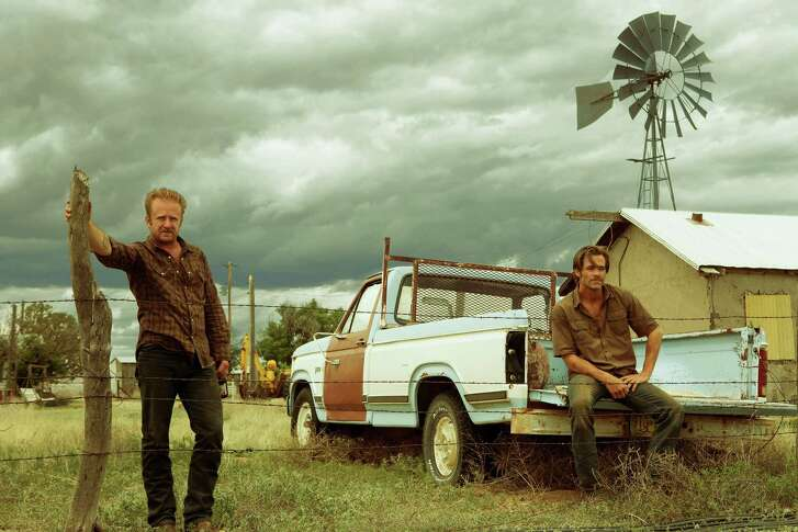 """Ben Foster and Chris Pine in """"Hell Or High Water."""""""