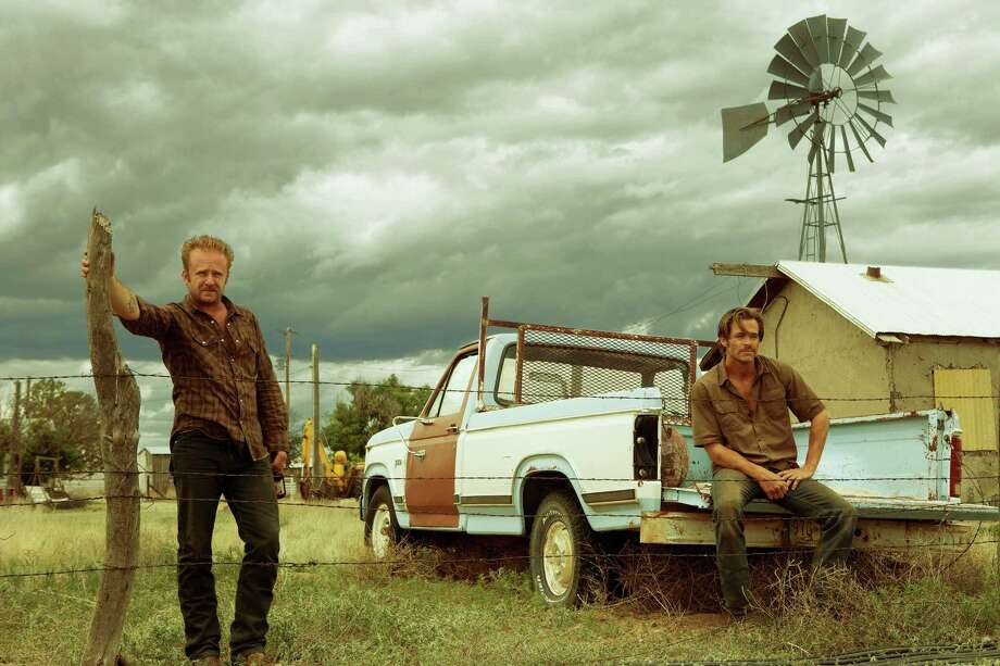 "Ben Foster and Chris Pine in ""Hell Or High Water."" Photo: Lorey Sebastian / CBS Films"