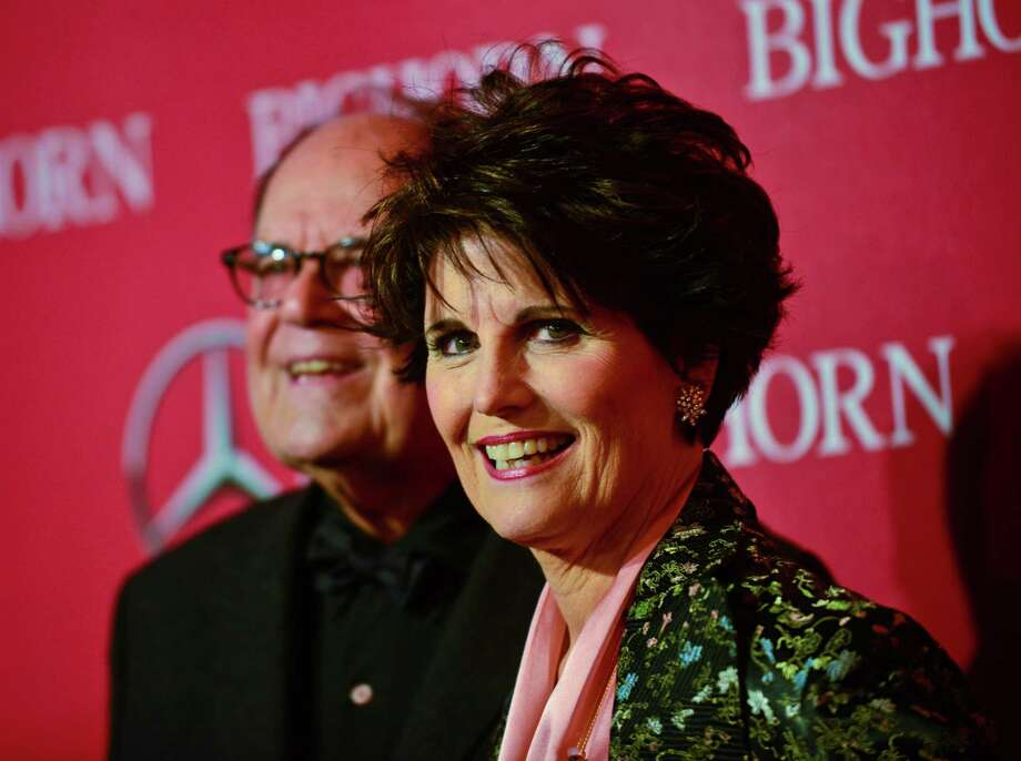 Actor Laurence Luckinbill and actress Lucie Arnaz arrives for the 27th Annual Palm Springs International Film Festival Awards Gala held at the Palm Springs Convention Center on January 2, 2016 in Palm Springs, California. Photo: Albert L. Ortega / Getty Images / 2016 Albert L. Ortega
