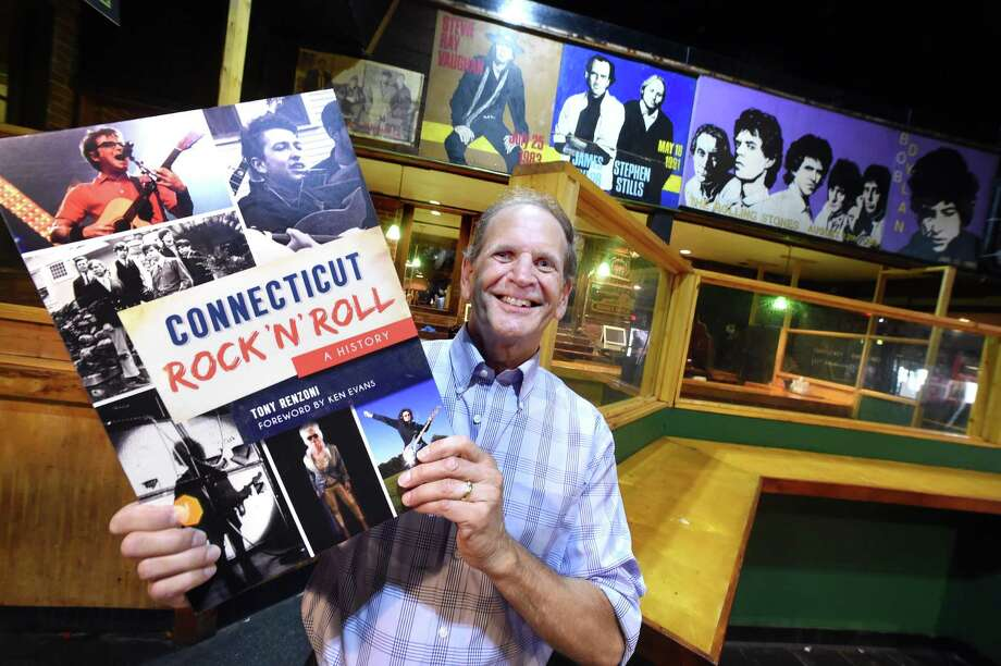 """Author Tony Renzoni will discuss his book, """"Connecticut Rock 'n' Roll: A History,"""" at 7 p.m. Wednesday at Greenwich Library. The Nutmeg State's musical highlights include the beautiful harmonies of New Haven's Five Satins, Gene Pitney's rise to fame, Stamford's the Fifth Estate and rockers such as Thurston Moore of Sonic Youth, Rivers Cuomo of Weezer and Saturday Night Live Band's Christine Ohlman. Hall of Famers include Tina Weymouth and Chris Frantz of the Talking Heads and Dennis Dunaway of the Alice Cooper Band. Some events became legendary, like Jimi Hendrix's spellbinding performance at Yale's Woolsey Hall, Jim Morrison's onstage arrest at the New Haven Arena and teenage Bob Dylan's appearance at Branford's Indian Neck Folk Festival. With in-depth interviews as well as rare, never-before-seen photos, Renzoni leads a sonic trip that captures the spirit and zenith of the local scene. Photo: File / Arnold Gold / Hearst Connecticut Media / New Haven Register"""