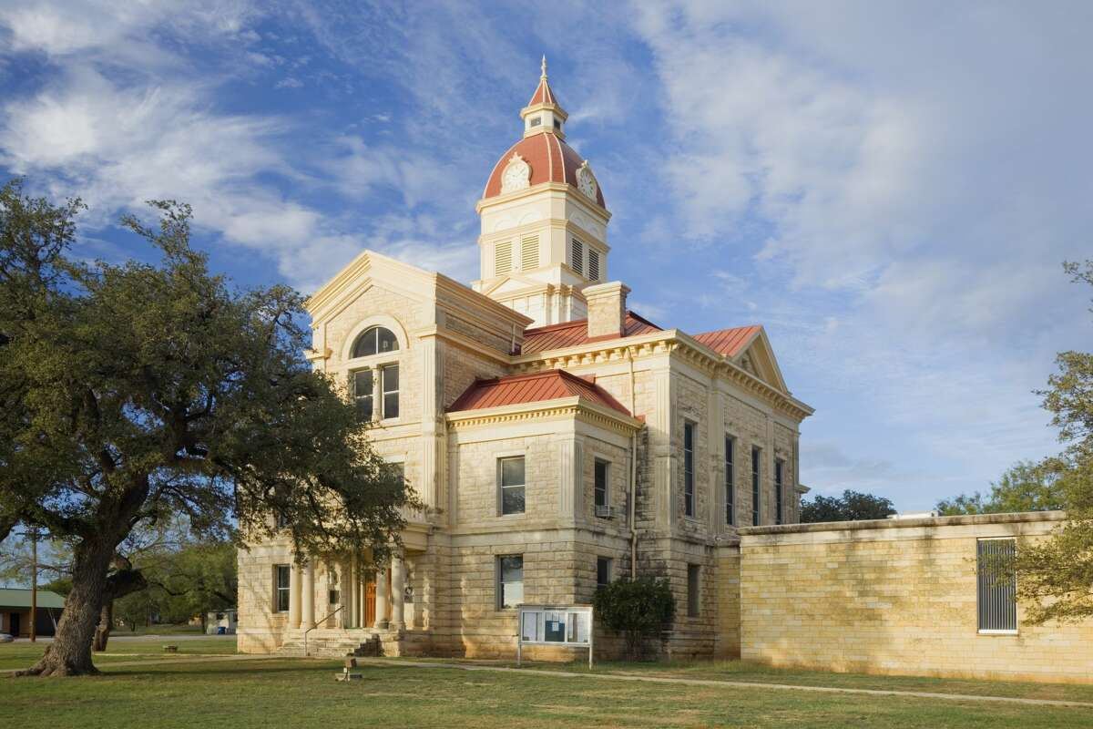 Bandera County Courthouse Where: Bandera, Texas Year built:Original building constructed 1869 - current courthouse building completed in 1891