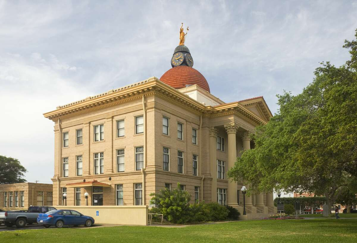 Bee County Courthouse Where: Beeville, Texas Year built:Original building constructed 1858 - current courthouse building completed in 1912