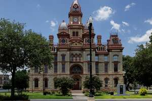 Caldwell County Courthouse     Where:  Lockhart, Texas   Year built: Original building constructed 1848 - current courthouse building completed in 1894