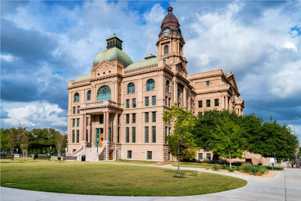 Tarrant County Courthouse Where: Fort Worth, Texas Year built:Original building constructed 1849 - current courthouse building completed in 1895