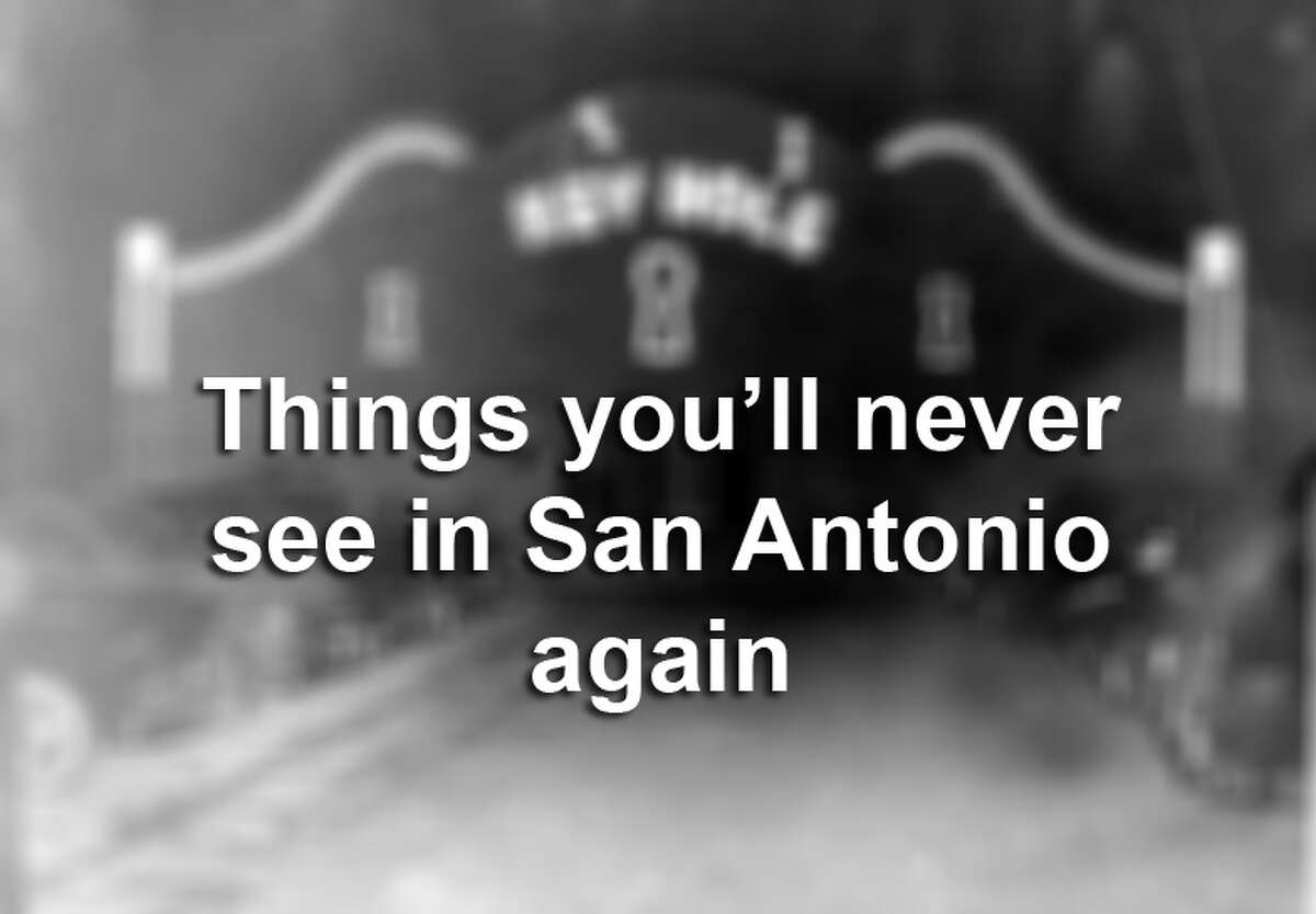 The Alamo isn't the only San Antonio landmark we'll always remember. While the Spanish mission still stands, other icons have fallen away. Click ahead to see the old greats that are gone but not forgotten.