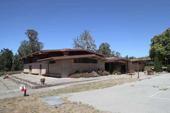 The school building now sits idle at Log Cabin Ranch on Tuesday, June 26, 2018, in La Honda, Calif.