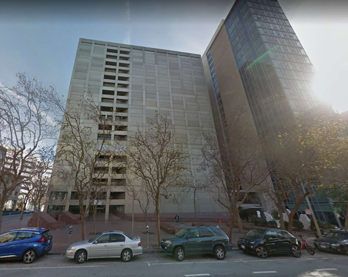 Google Map images of 611 Folsom Street in San Francisco, the alleged location of NSA spying operations.