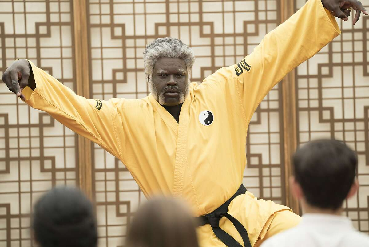 This image released by Lionsgate shows Shaquille O'Neal as Big Fella in a scene from the film,