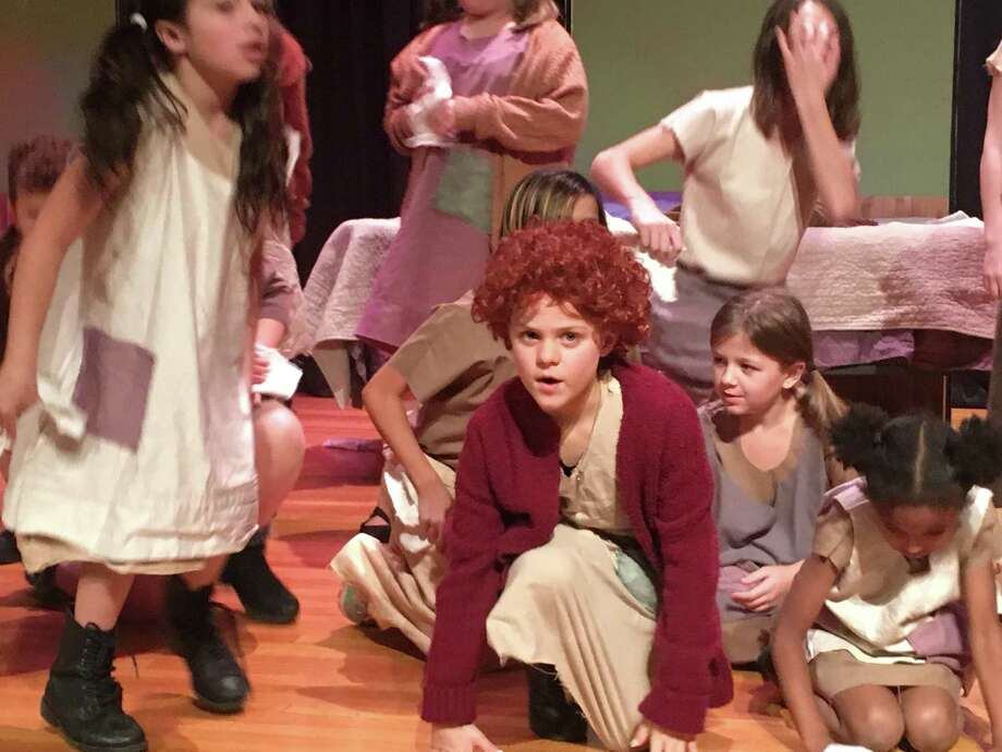 "A fundraiser to support the work of the No Boundaries Youth Theater, formerly known as New Britain Youth Theater, will be held Aug. 25. Pictured are members performing ""Annie Jr."" in December 2017 Photo: Contributed Photo"