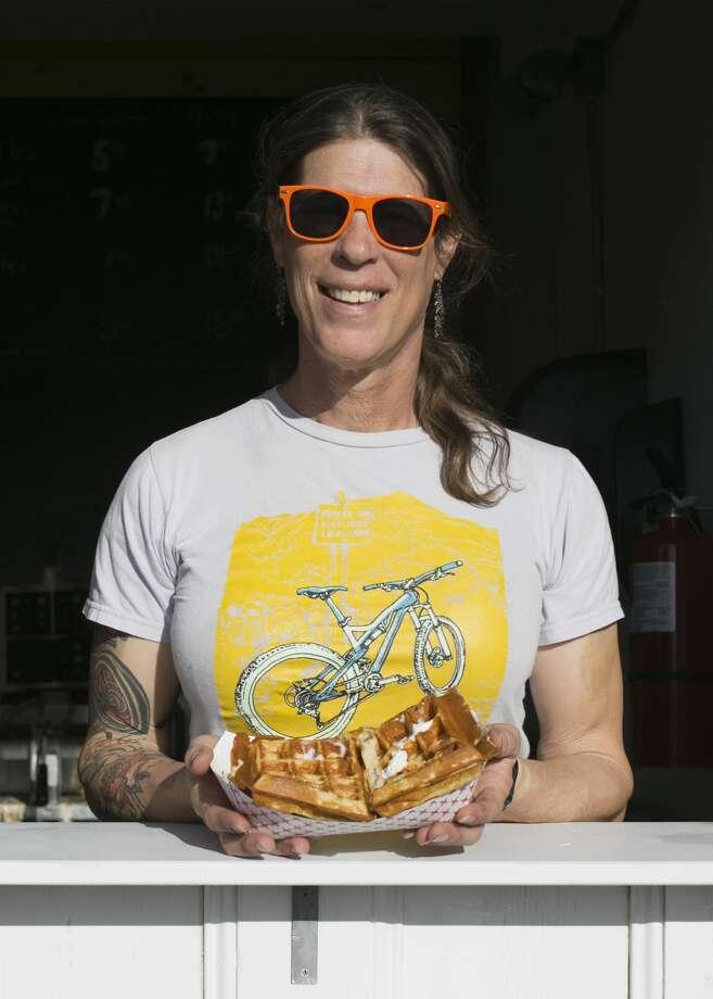 Tammy Powers, founder of Tammy's Chicken in Waffles. Photo: Matty Barnes