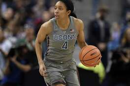 UConn guard Mikayla Coombs is recovering from a blood clot in her leg.