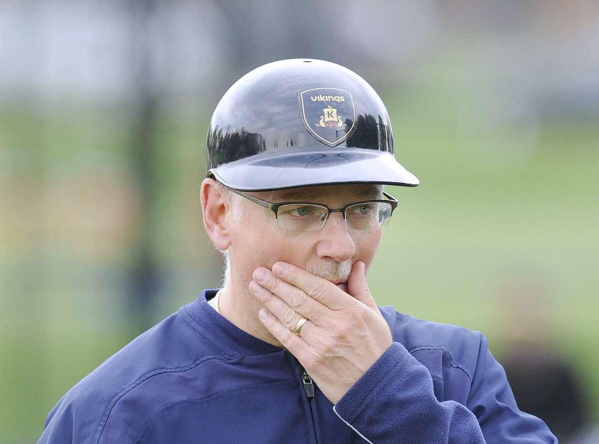 King baseball coach Ken Lewis.