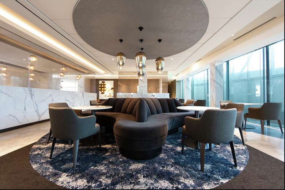 United's new Polaris lounge at LAX will likely look a lot like this one at Bush Intercontinental Airport in Houston Photo: United Airlines