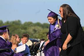 Images from Westbrook High School graduation on Tuesday, June 26, 2018.
