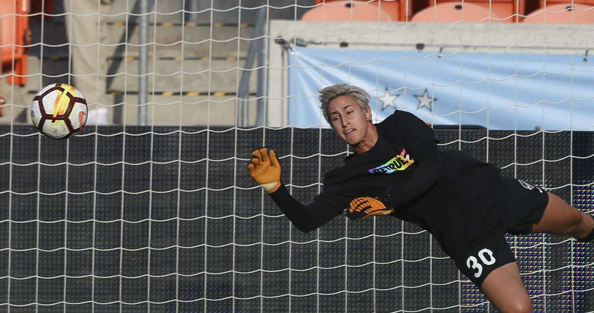 Dash goalkeeper Bianca Henninger decided to start talking about her sexual orientation to help others struggling to find support.
