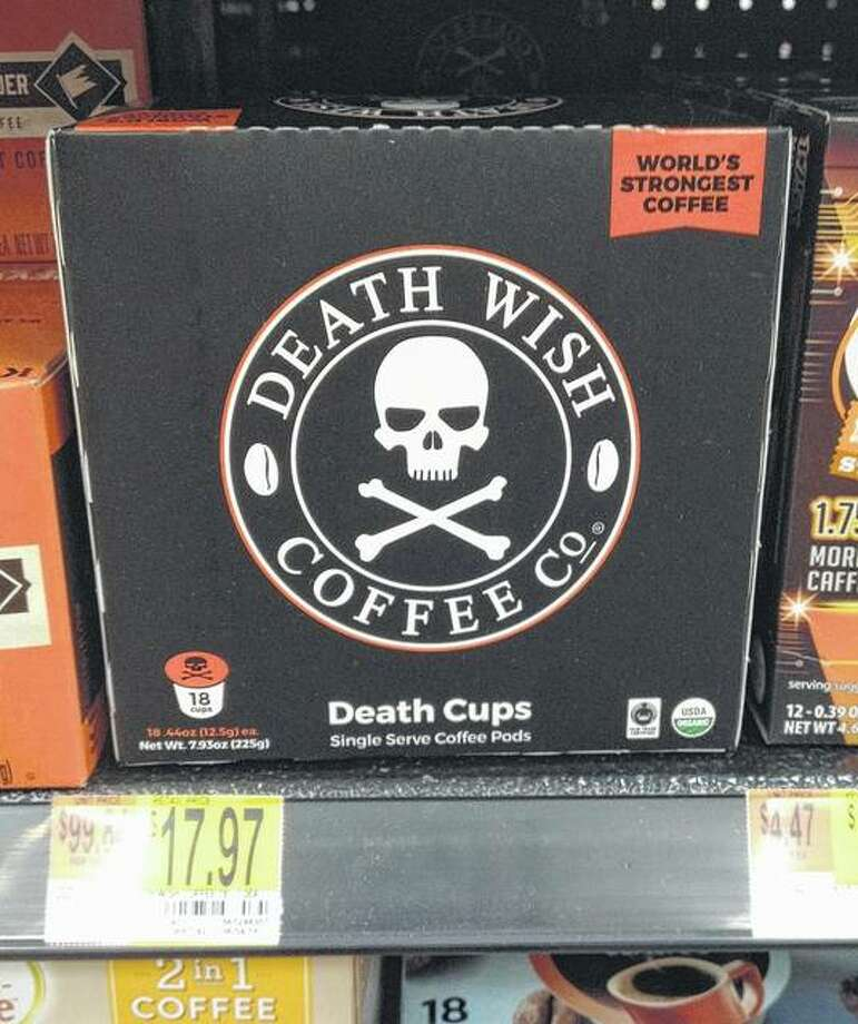 Death Wish Coffee, said to be the world's most caffeinated coffee, is now available at Walmart on West Morton Avenue.