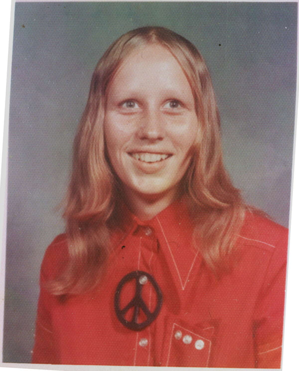 Inez Deaton as a senior in high school. Deaton was killed in 1979.