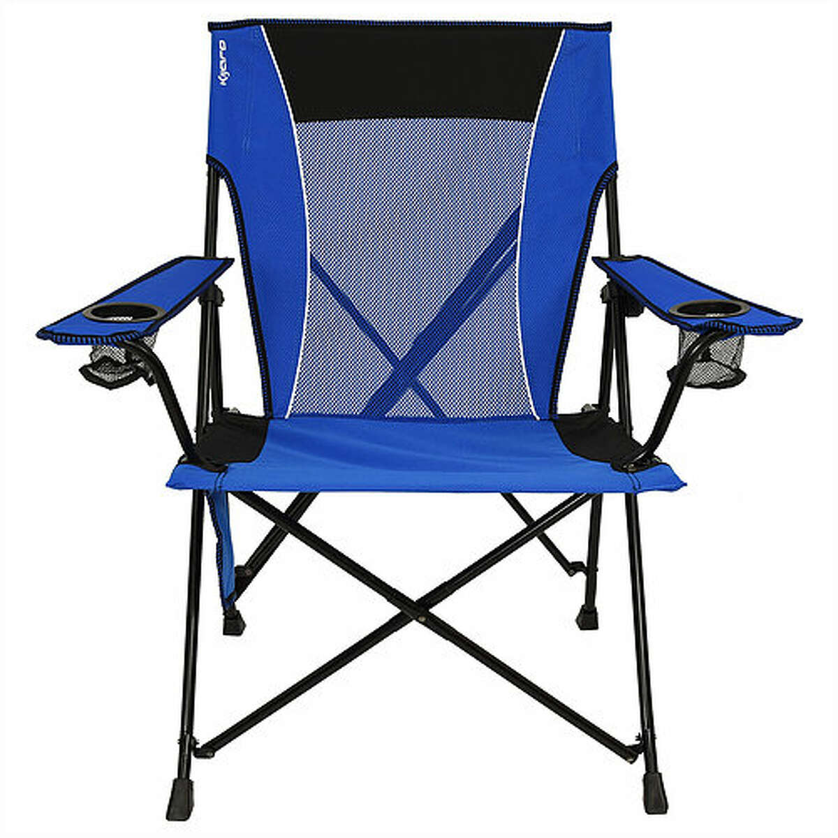 This dual-lock chair from Kijaro (highly rated in places like Amazon) cuts out the sag by locking into place. TO BUY: Sold at most camping goods stores, as well as online. $40. kijaro.com.