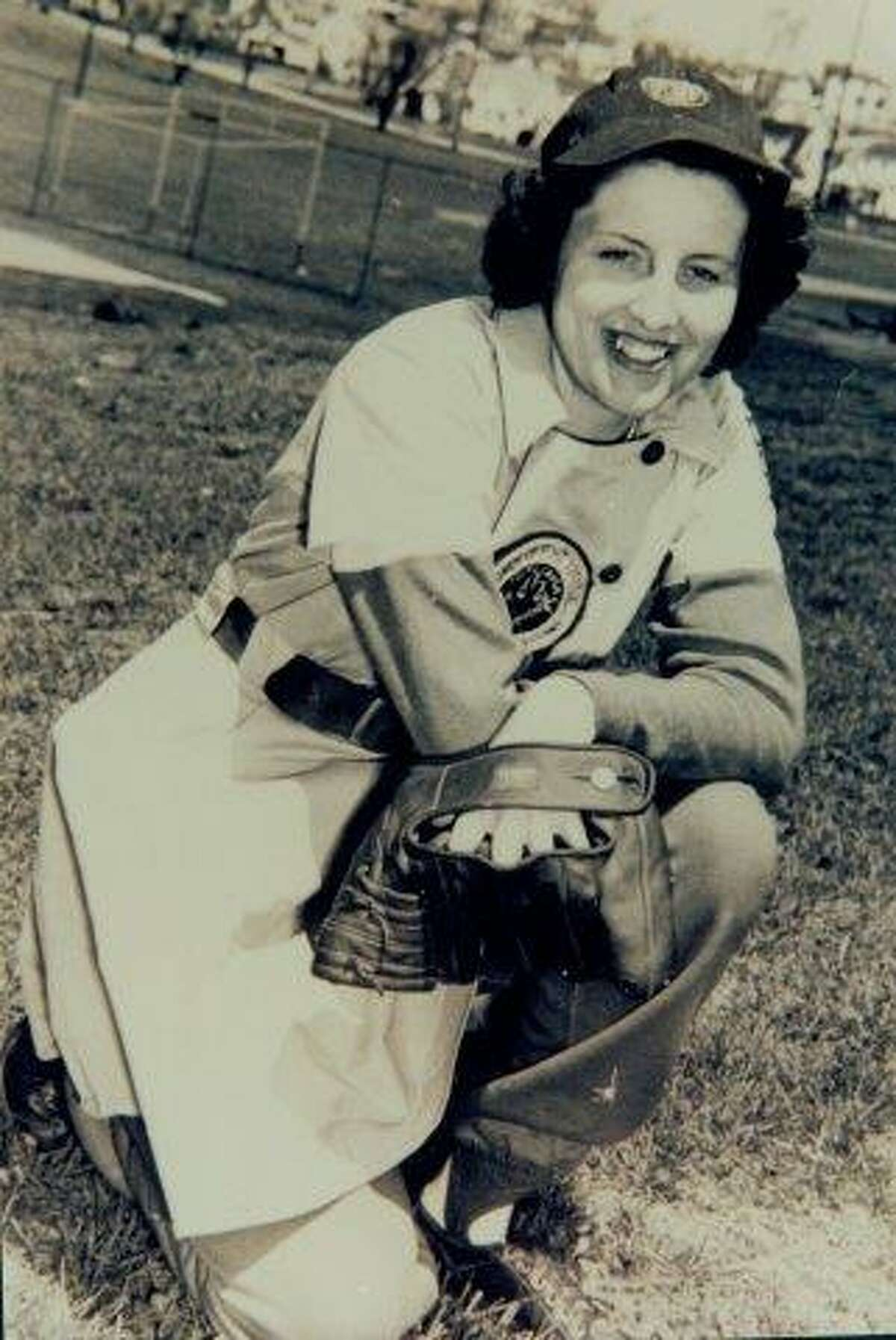Dottie Collins of the AAG (Provided, Baseball Hall of Fame)