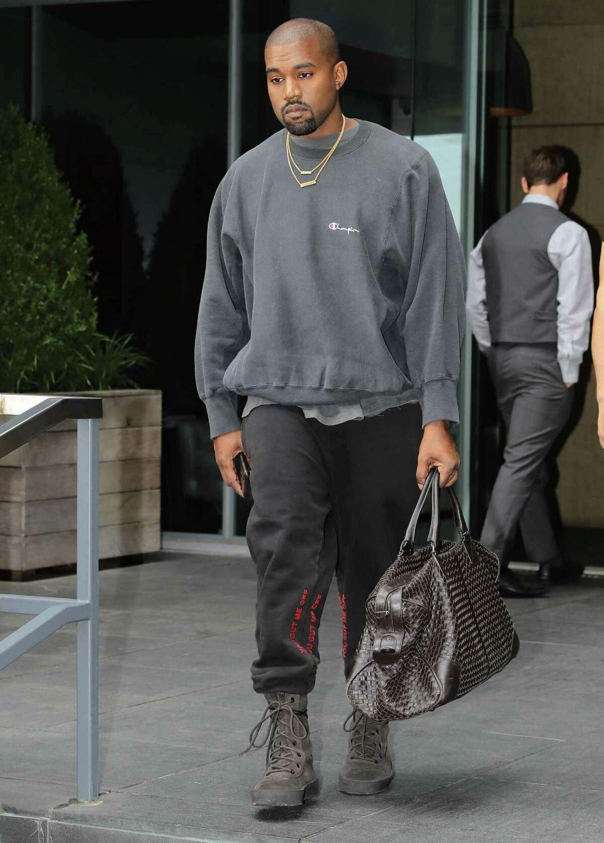 Kanye West: sweatpants aficionado.