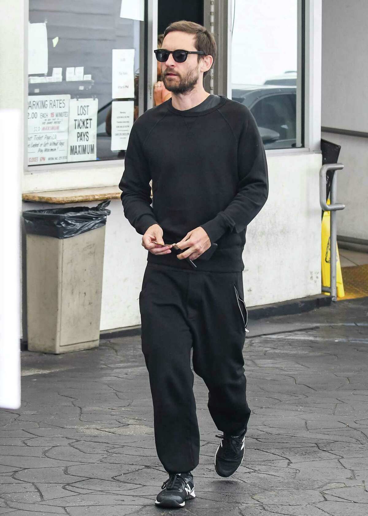 Tobey Maguire is seen on May 18, 2018 in Los Angeles, California.