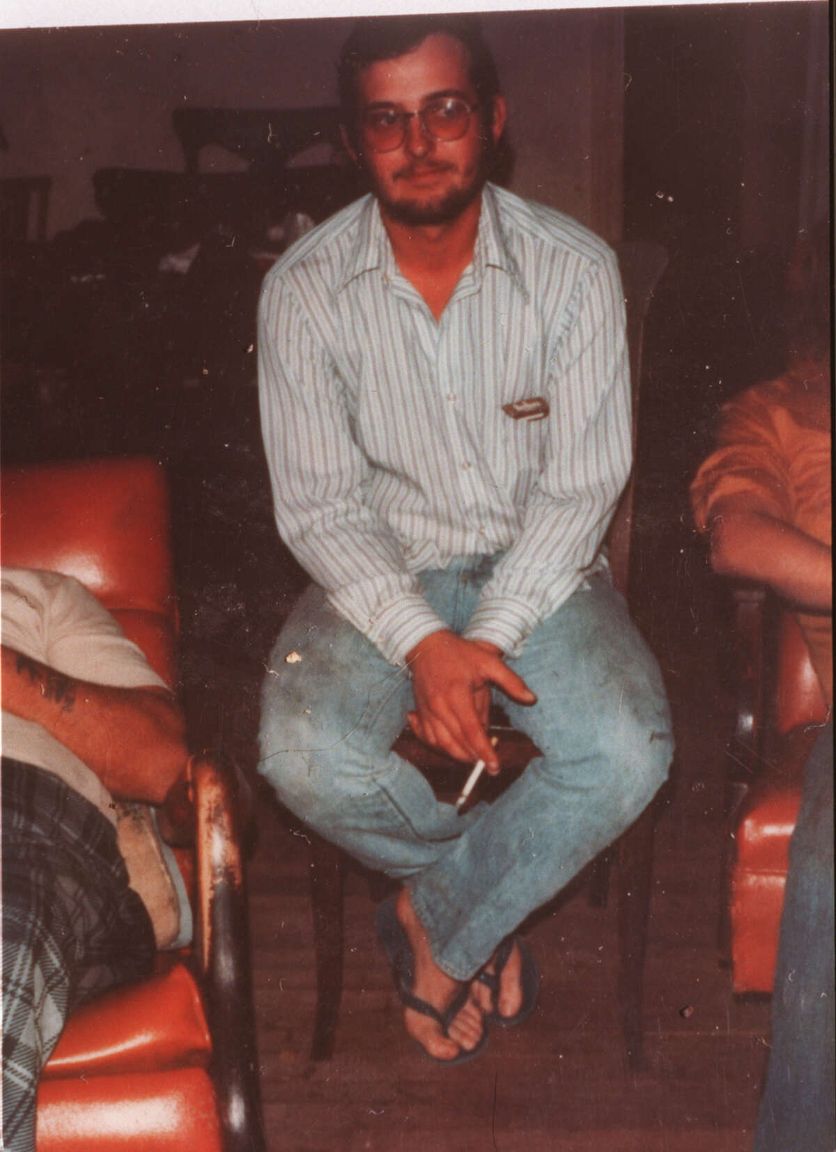 Copy of an undated photo of Danny Paul Bible, self-confessed murderer of 20-year-old Inez Deaton, whose body was found along Greens Bayou in1979.