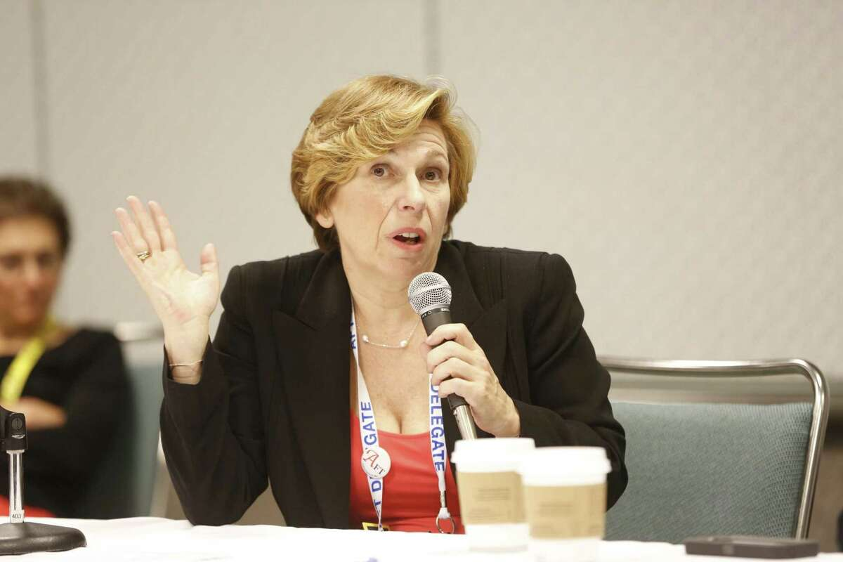 American Federation of Teachers President Randi Weingarten said unions are still provide the best protections for workers.