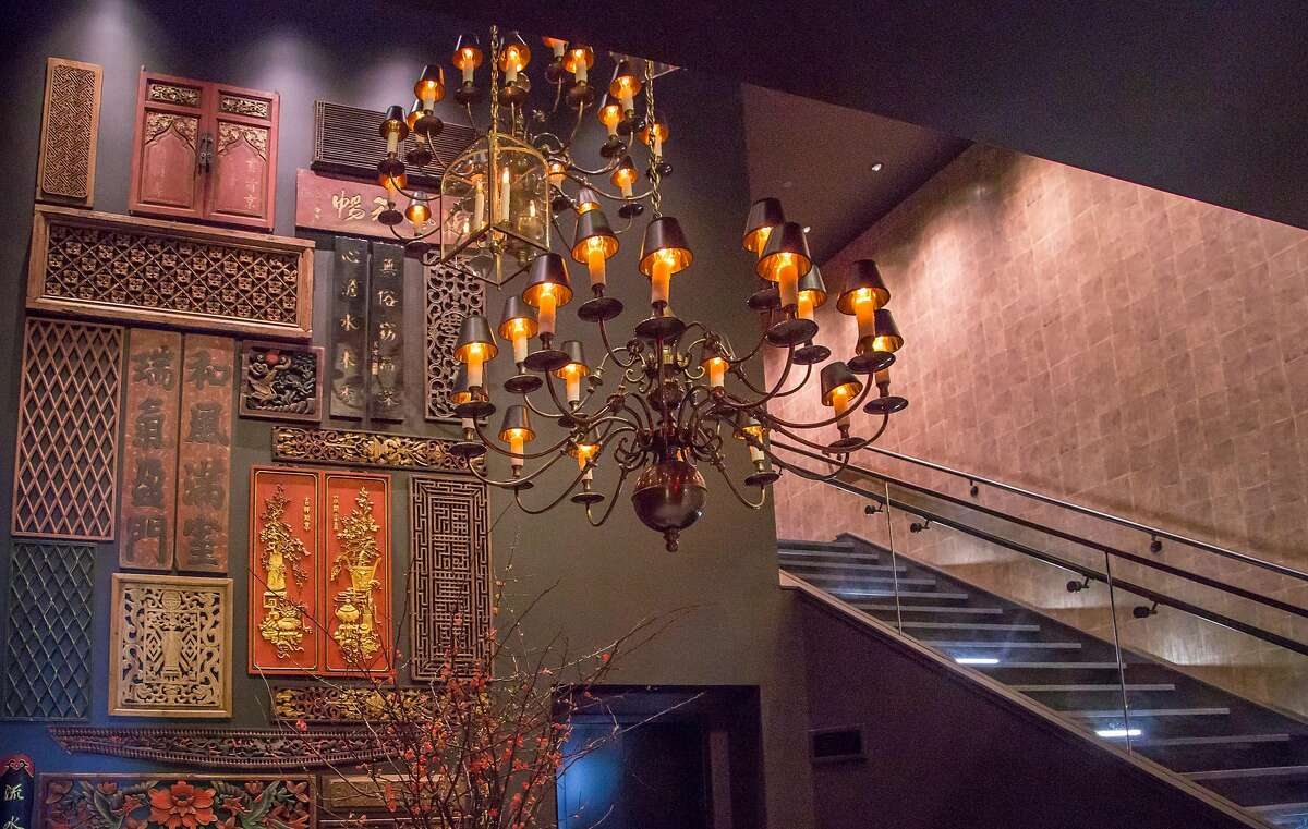 The entrance to Crystal Jade in San Francisco, Calif., is seen on Friday, January 9th, 2015.