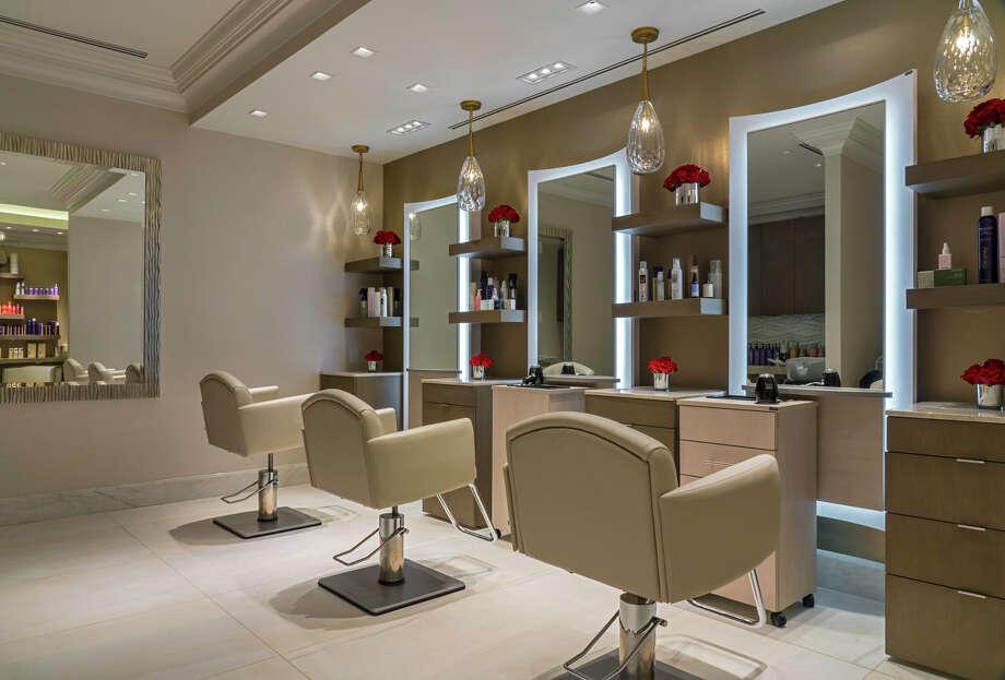 Curt Darling's salon at Tilman Fertitta's Post Oak Hotel. Photo: Fertitta Entertainment
