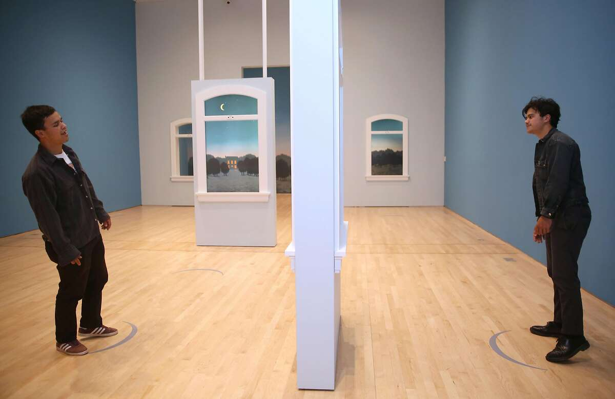 The Magritte Interpretive Gallery seen at SFMOMA on Wednesday, May 30, 2018 in San Francisco, Calif.
