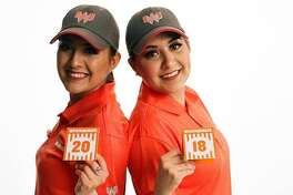 Twins Alyssa and Alejandra Ordónez have worked for Whataburger for six years. Their photo will be featured at the Uniform 300 pop-up event on Thursday, June 28.