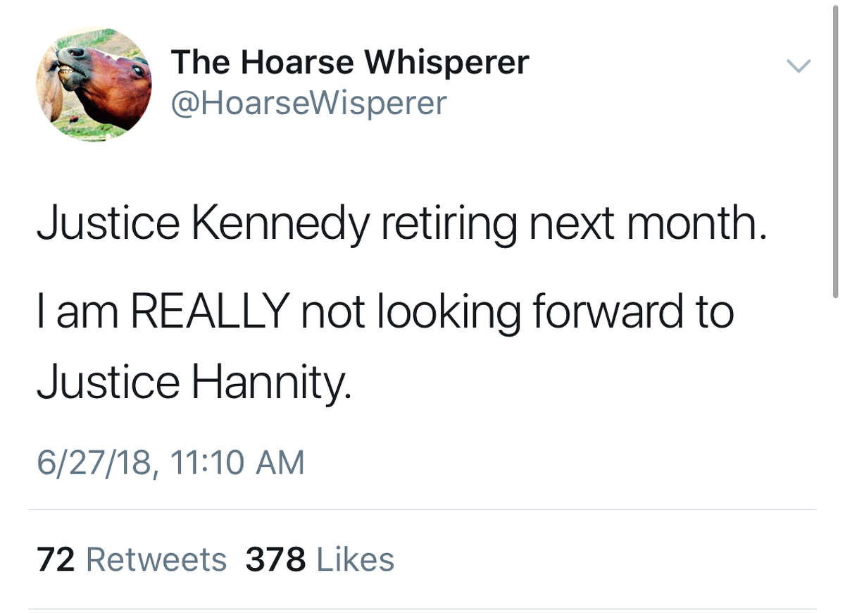 People took to Twitter to react to news of Justice Anthony Kennedy's retirement from the Supreme Court.