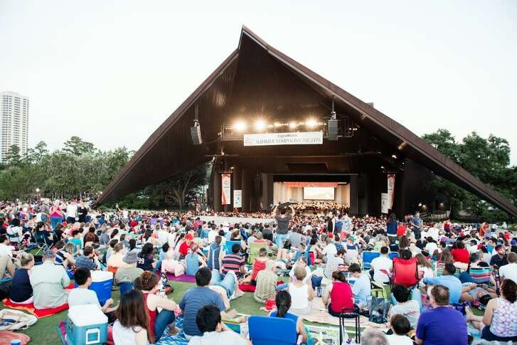 Miller Outdoor Theatre will be on of the venues for the Houston Symphony free summer concerts.