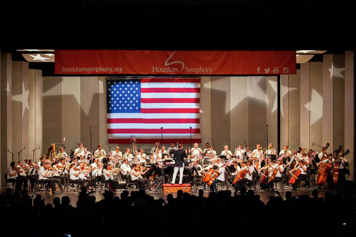 ExxonMobile Summer Symphony Nights: A Star-Spangled Salute will begin at 8:30 p.m. July 4 at Miller Outdoor Theatre.