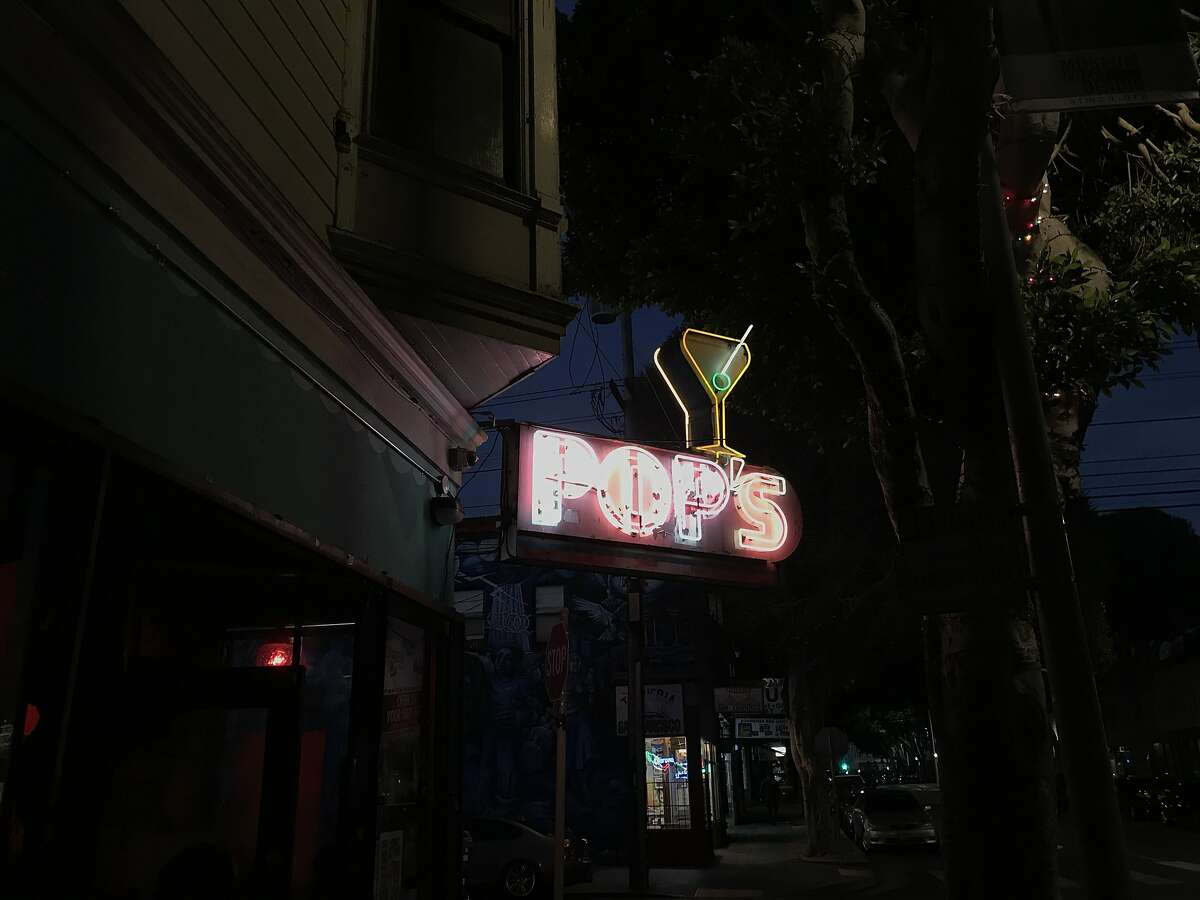 Pop's, a dive bar in the Mission, has been around since 1937.