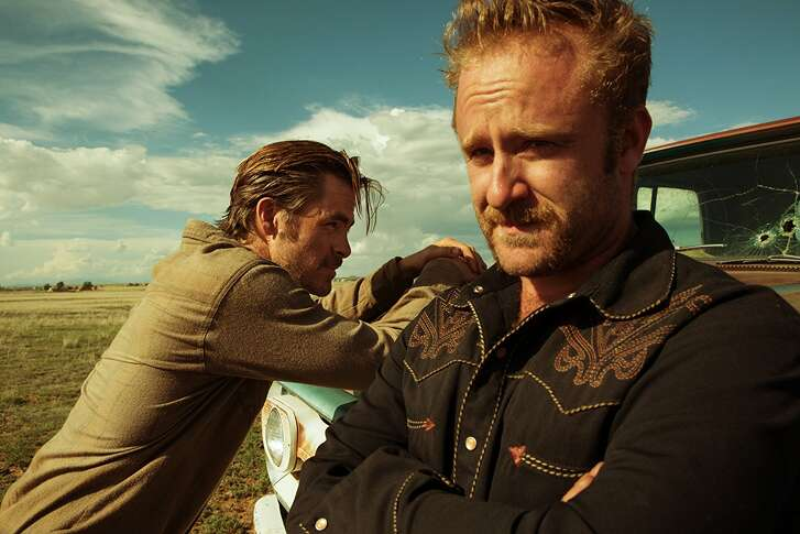 Chris Pine and Ben Foster in 'Hell or High Water'