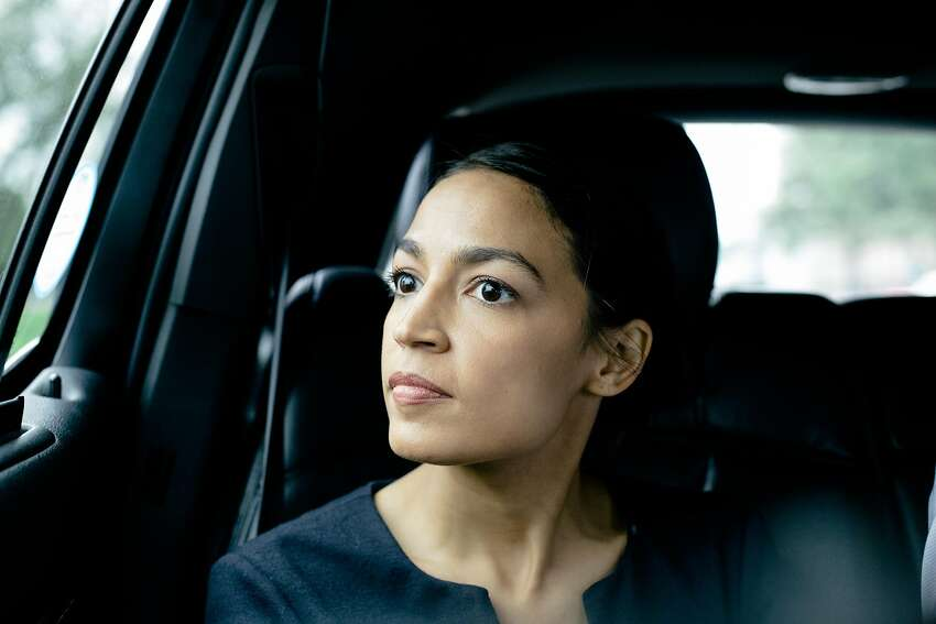 Alexandria Ocasio-Cortez, who Tuesday defeated Rep. Joseph Crowley (D-N.Y.) in a primary upset, in New York, June 27, 2018. It was the most significant loss for a Democratic incumbent in years and one that will reverberate across the party and the country. (Annie Tritt/The New York Times)