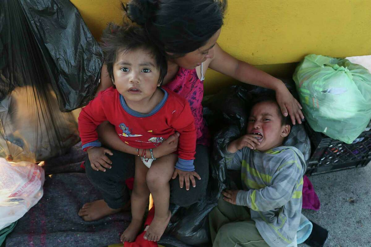 More sick children arriving at the US border