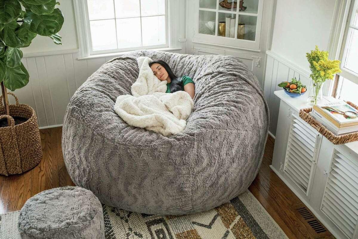 Stamford-based furniture retailer Lovesac, which makes foam beanbag