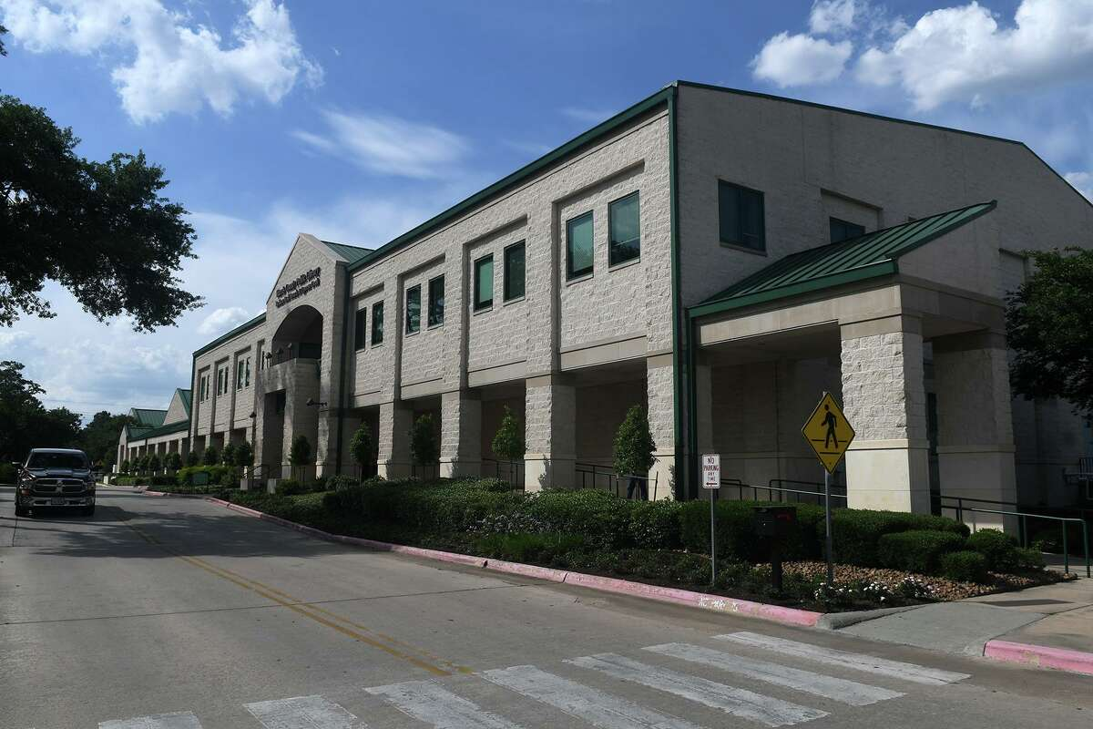 On May 26, most libraries in the Harris County Public Library System - except for the two at the Lone Star College campuses - will resume curbside pickup of books and other items reserved for hold on the system's website. Shown here is the Barbara Bush Library.
