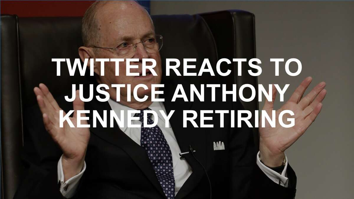 Twitter lit up with reactions when Supreme Court Justice Anthony Kennedy announced his retirement. Click through to see the tweets.