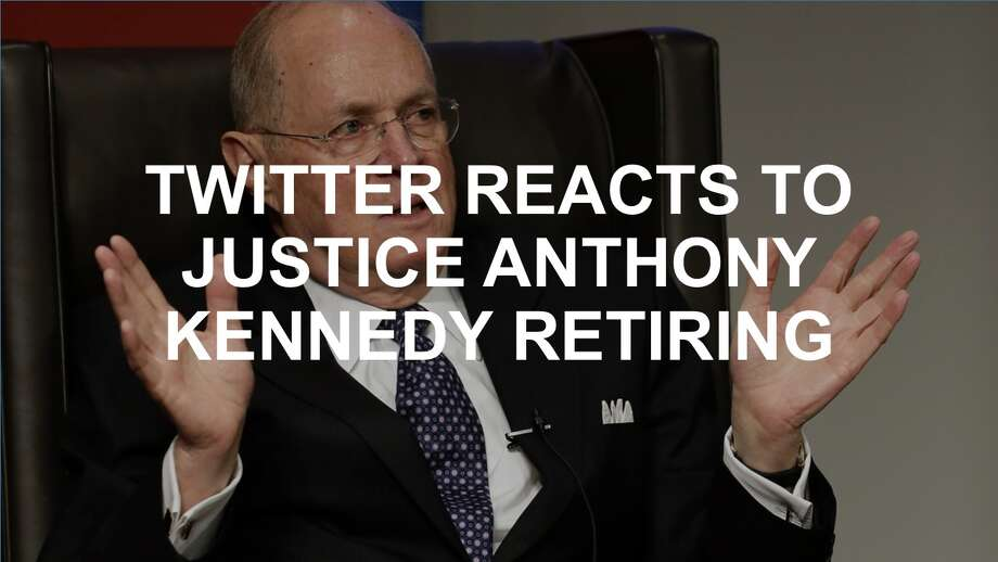 Twitter lit up with reactions when Supreme Court Justice Anthony Kennedy announced his retirement. Click through to see the tweets. Photo: AP