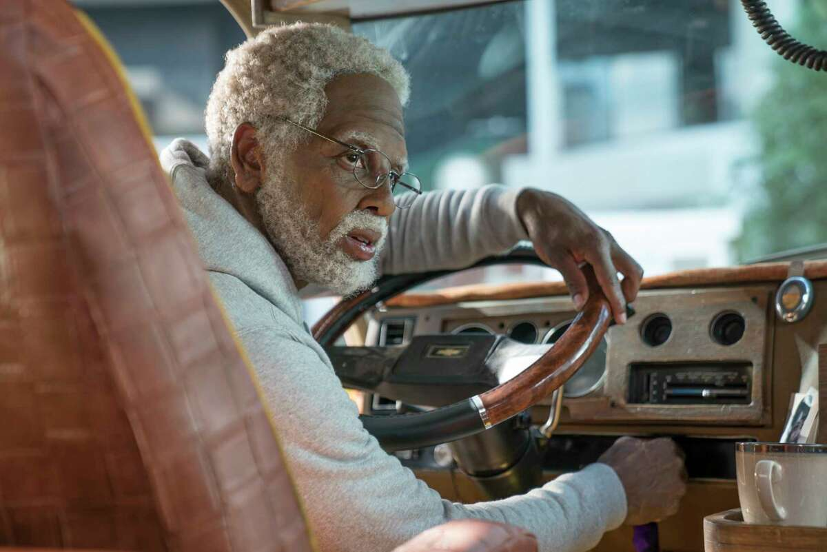 This image released by Lionsgate shows Boston Celtics basketball player Kyrie Irving in a scene from the comedy